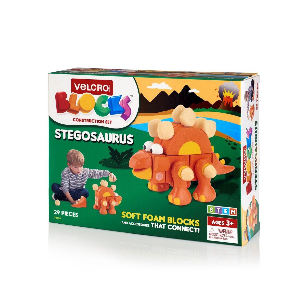 VELCRO® Brand Blocks Stegosaurus 29pcs