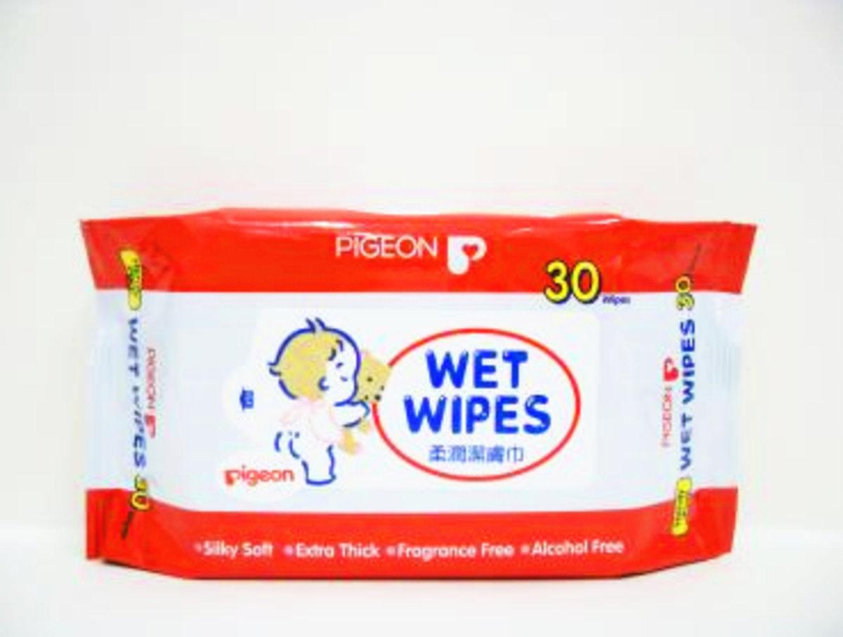 10566 Pegeon 柔潤潔膚巾30片