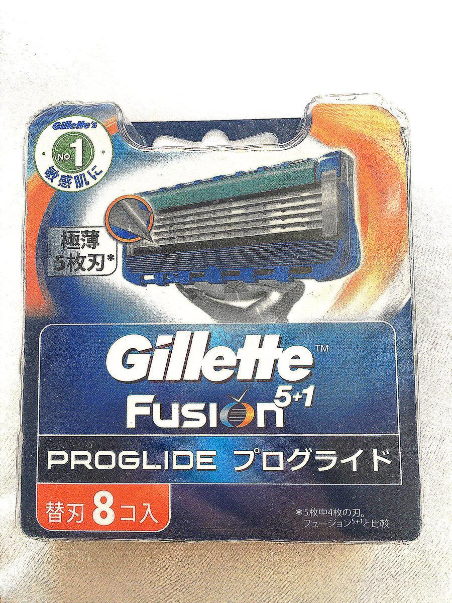 吉列 Gillette 無感剃鬚刀頭 8片裝(隨機版本)