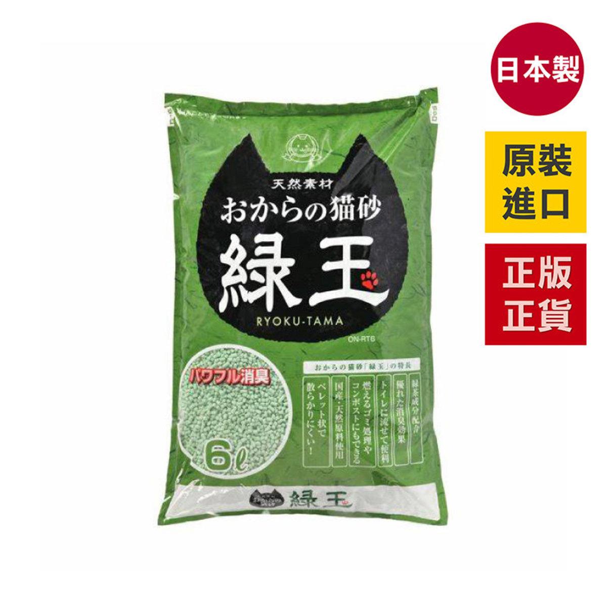 Tofu Cat Litter - Emerald 6L
