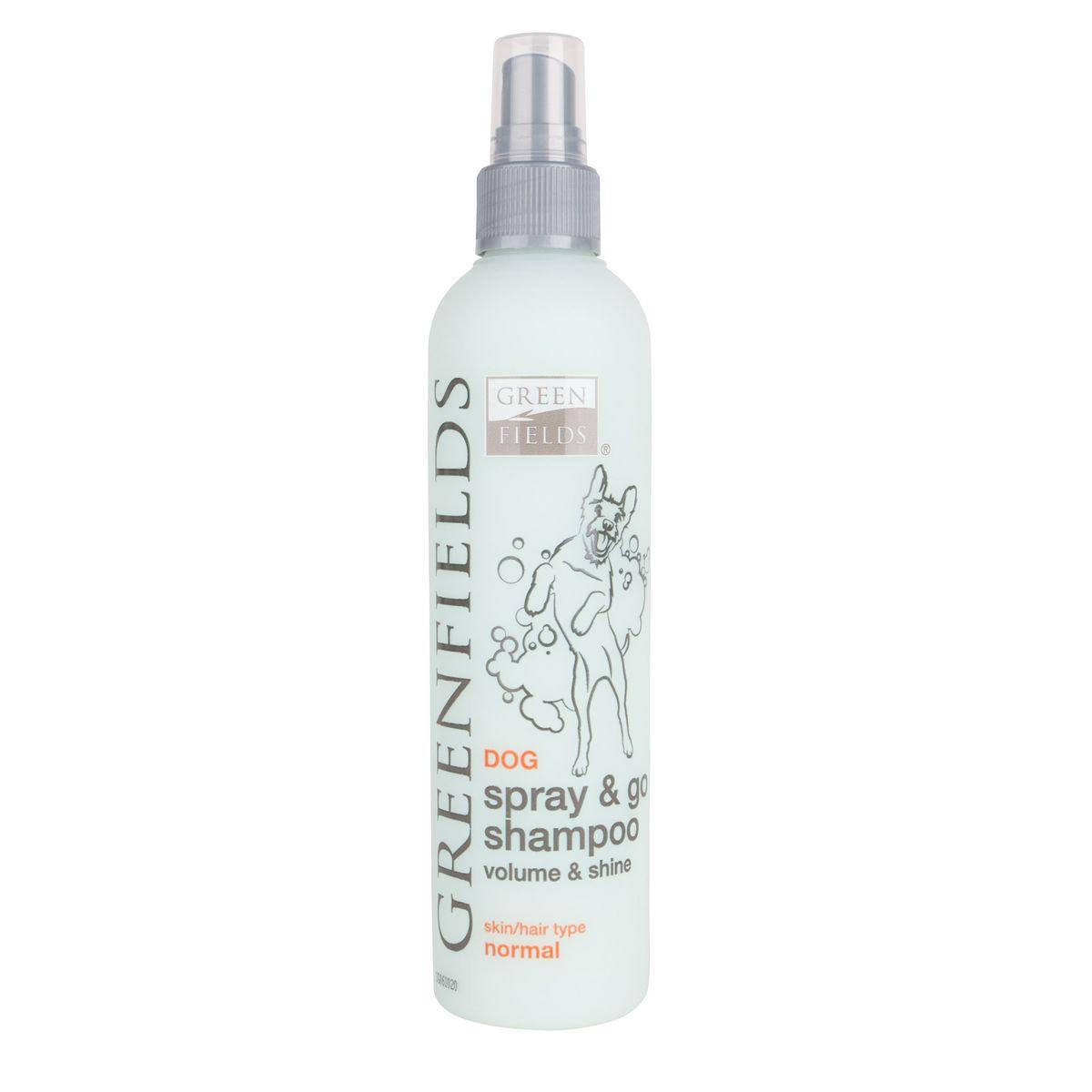 Greenfields Dog Spray & Go Shampoo