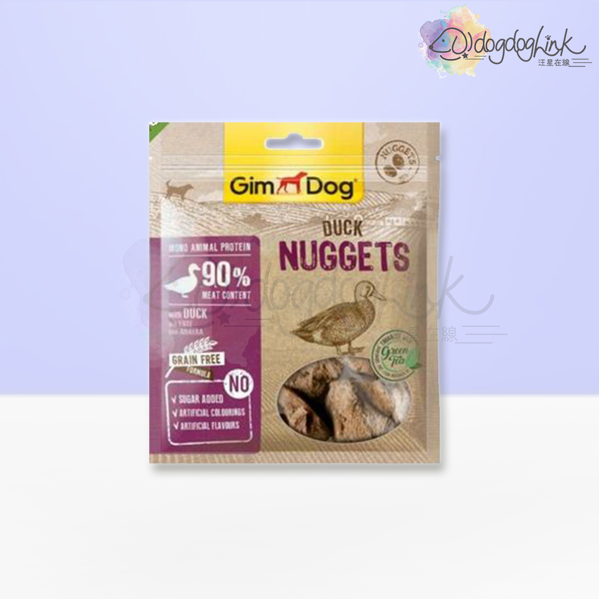 Pure Nuggets Duck with Green Tea 55g