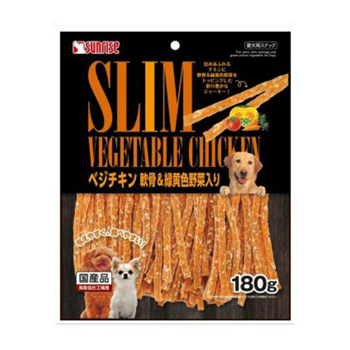 SGN-175 Thin chicken jerky with cartilage and vegetable 180g