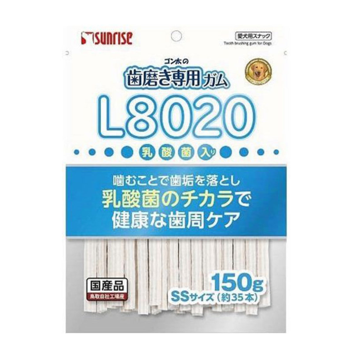 SHG-043 Soft type toothpaste chewing gum with L8020 150g