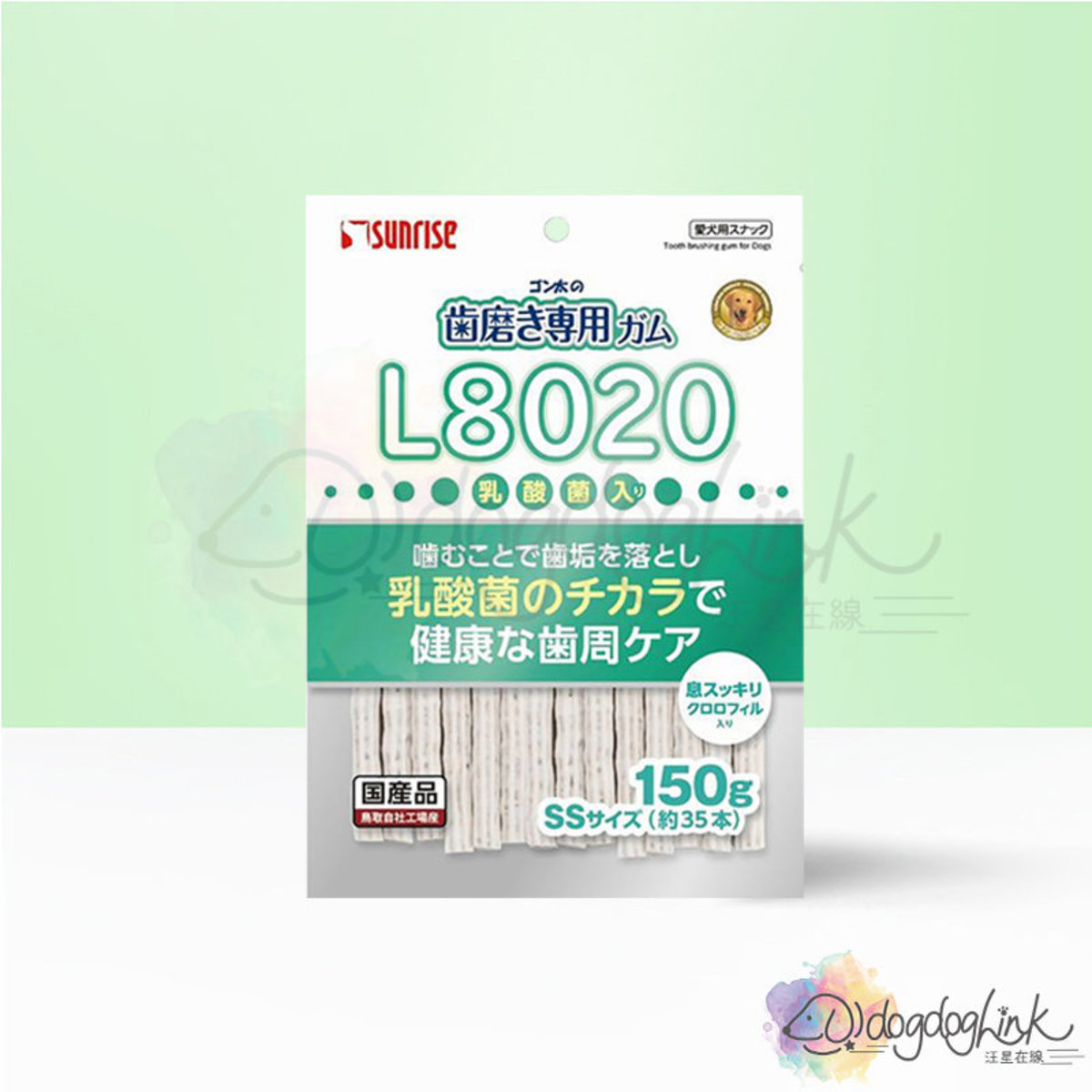 SHG-044 Soft type toothpaste chewing gum with L8020 150g