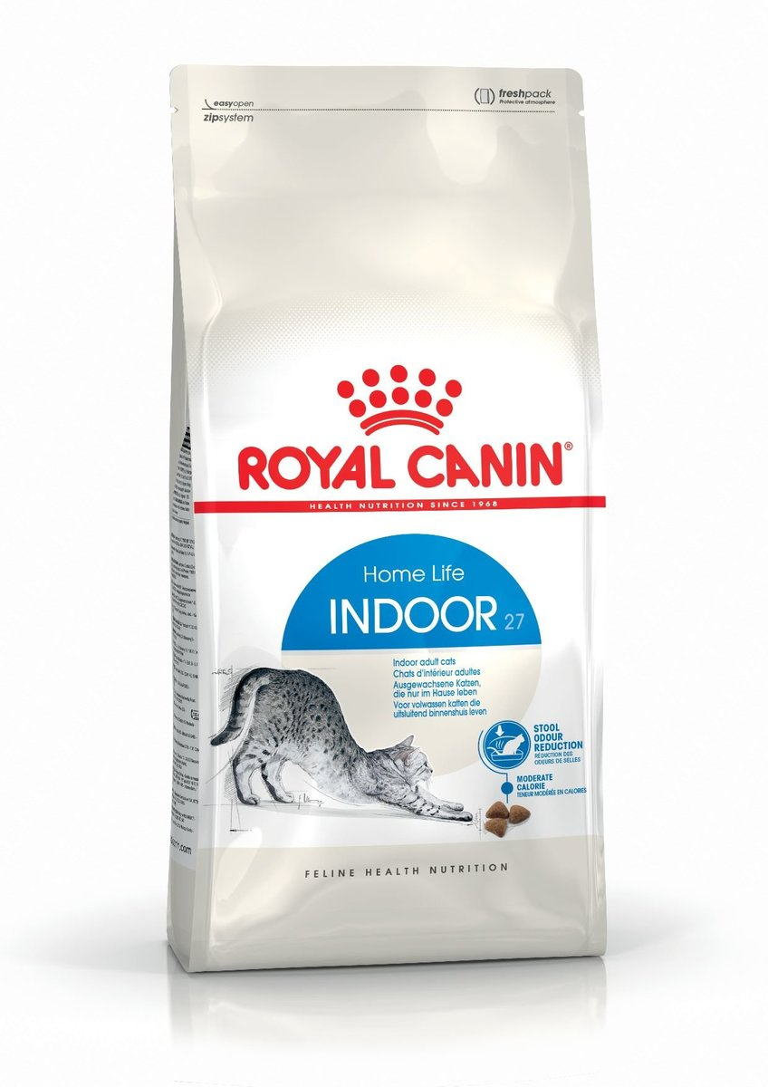 IN27 Indoor Adult Cat Food 4KG