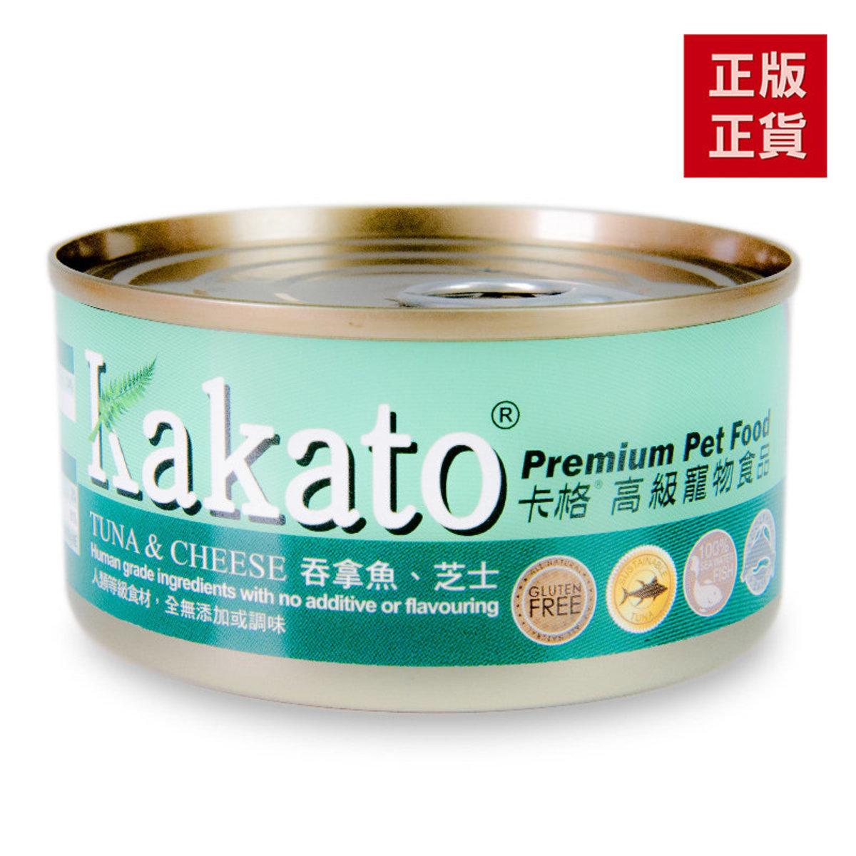 吞拿魚芝士貓狗罐頭170g