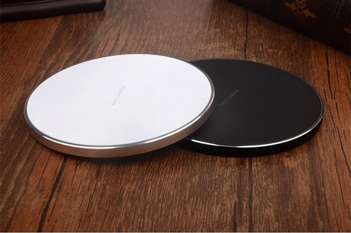 超薄QI無線充電板 (2色可選) (黑色)