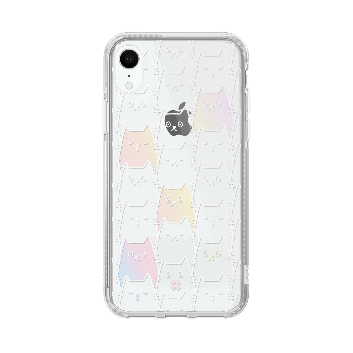 iPhone XR 2M AntiDrop PrismArt case - Cat