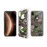 iPhone XR 2M AntiDrop PrismArt case - Camo Wood