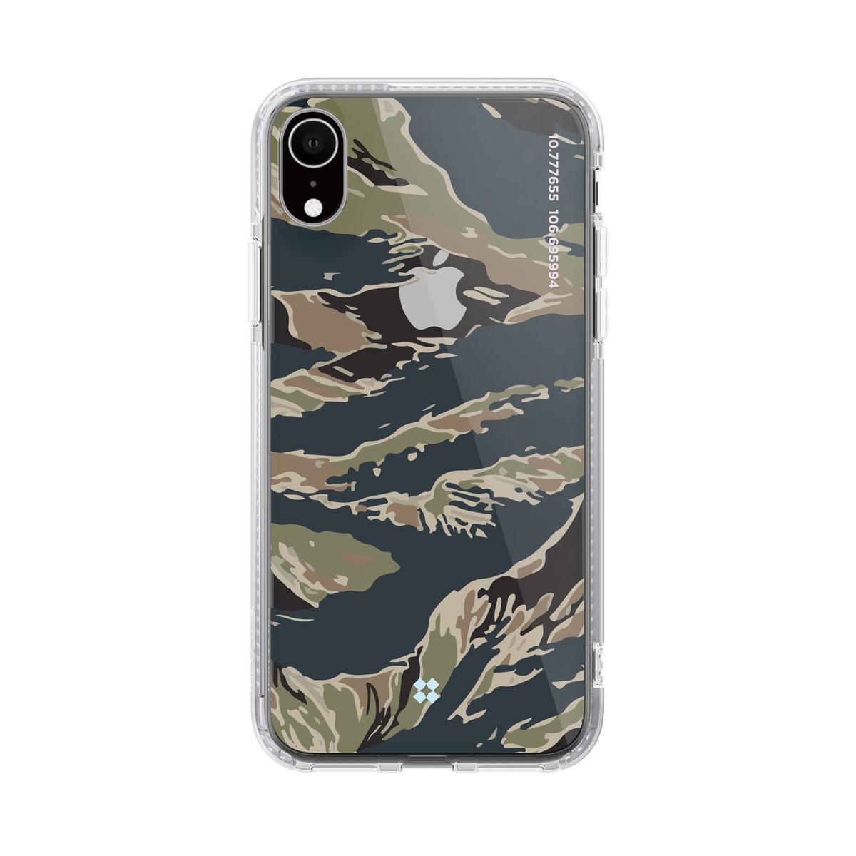 "iPhone XR 兩米防撞手機套 ""Camo Tiger """