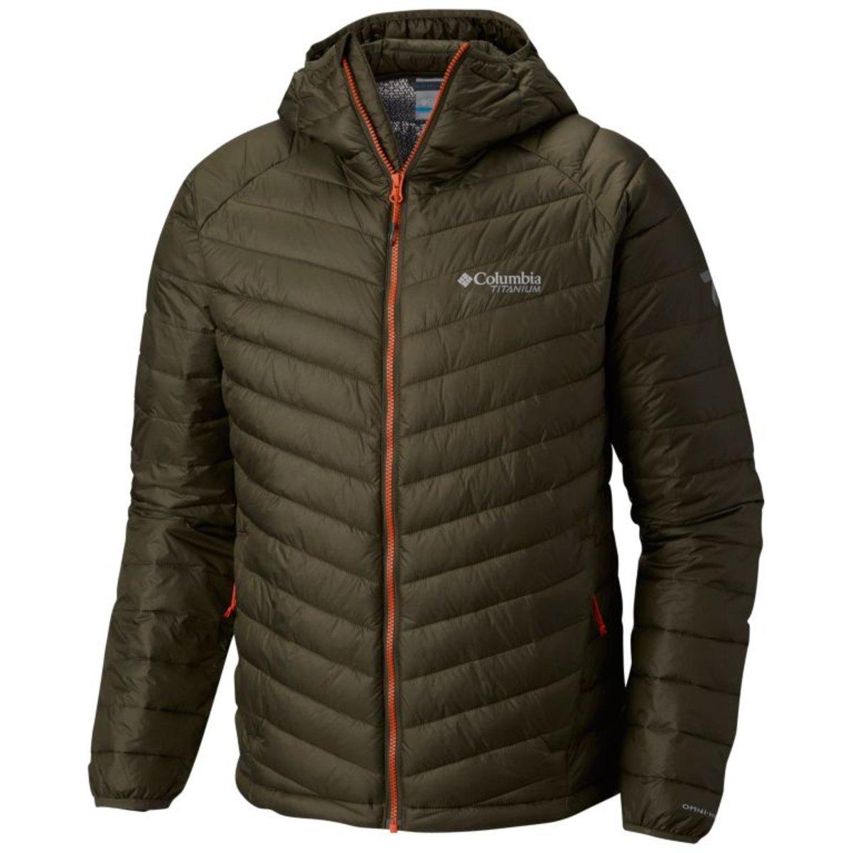 男裝 Snow Country Hooded OMNI-HEAT™ 3D強化絨毛自體發熱保暖外套 – Peatmoss 軍綠色