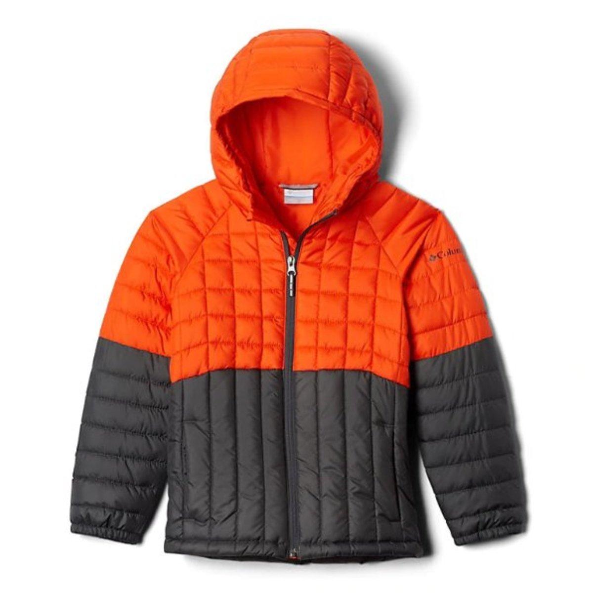 Boys' Humphrey Hills™ Puffer Jacket - Grill, State Orange