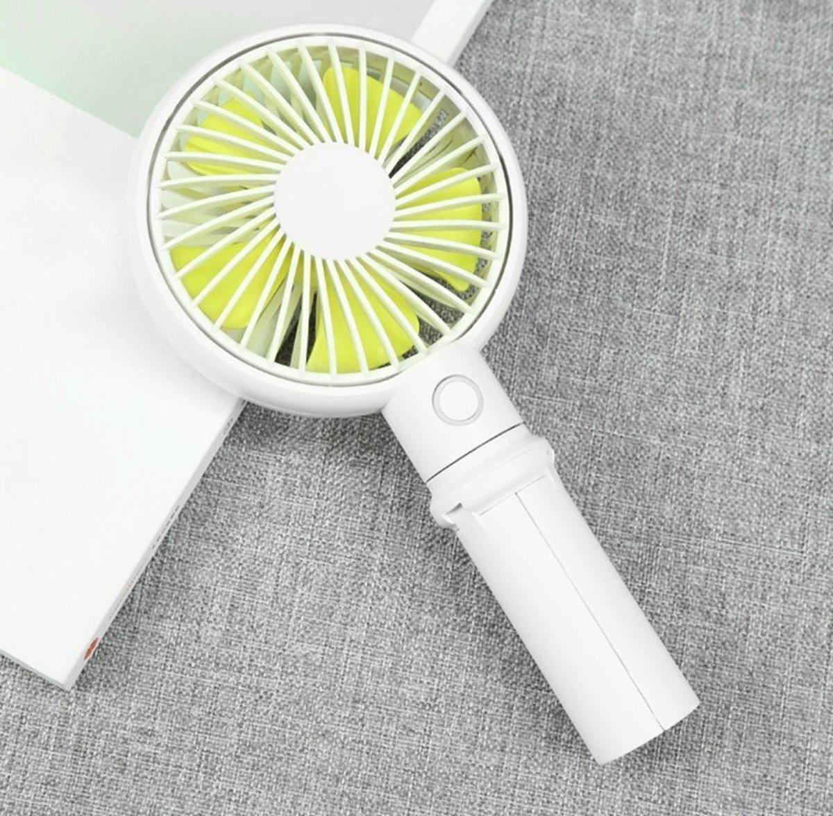 Benks Mini Hand Carry Multi-Function Fan -- White
