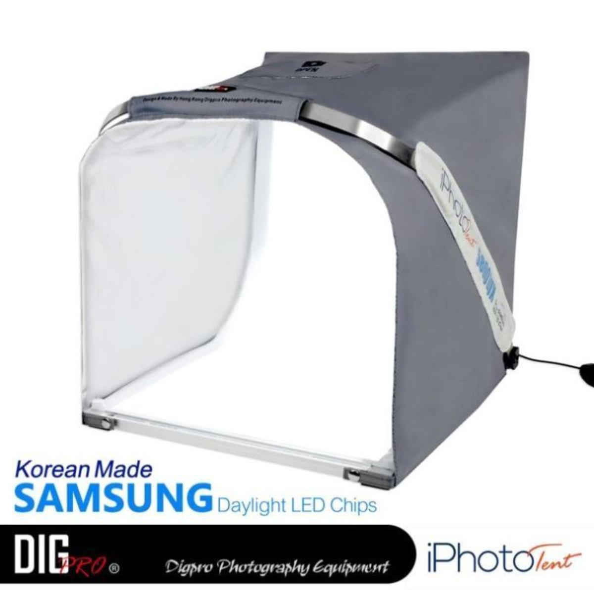 Digpro i Photo Tent: 40cm SAMSUNG LED Light photography Studio Cube Lighting Kit
