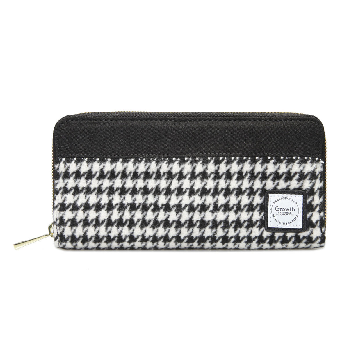 GROWTH Classic Houndstooth Camden Wallet GW-FW17-3155-P006