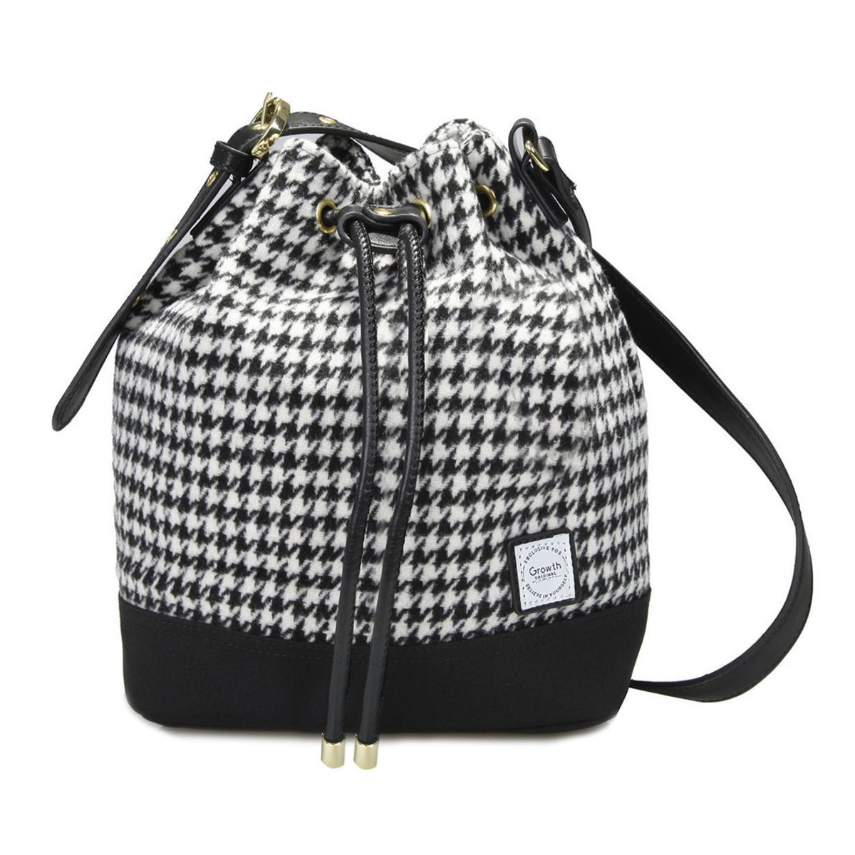Classic Houndstooth Rainbow Shoulder Bag GW-FW17-3149-P006