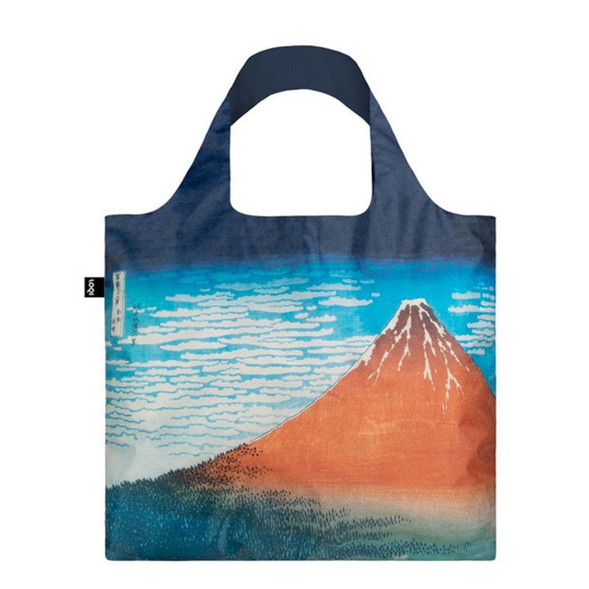 Reusable Bag - HOKUSAI Red Fuji, Mountains in Clear Weather Bag