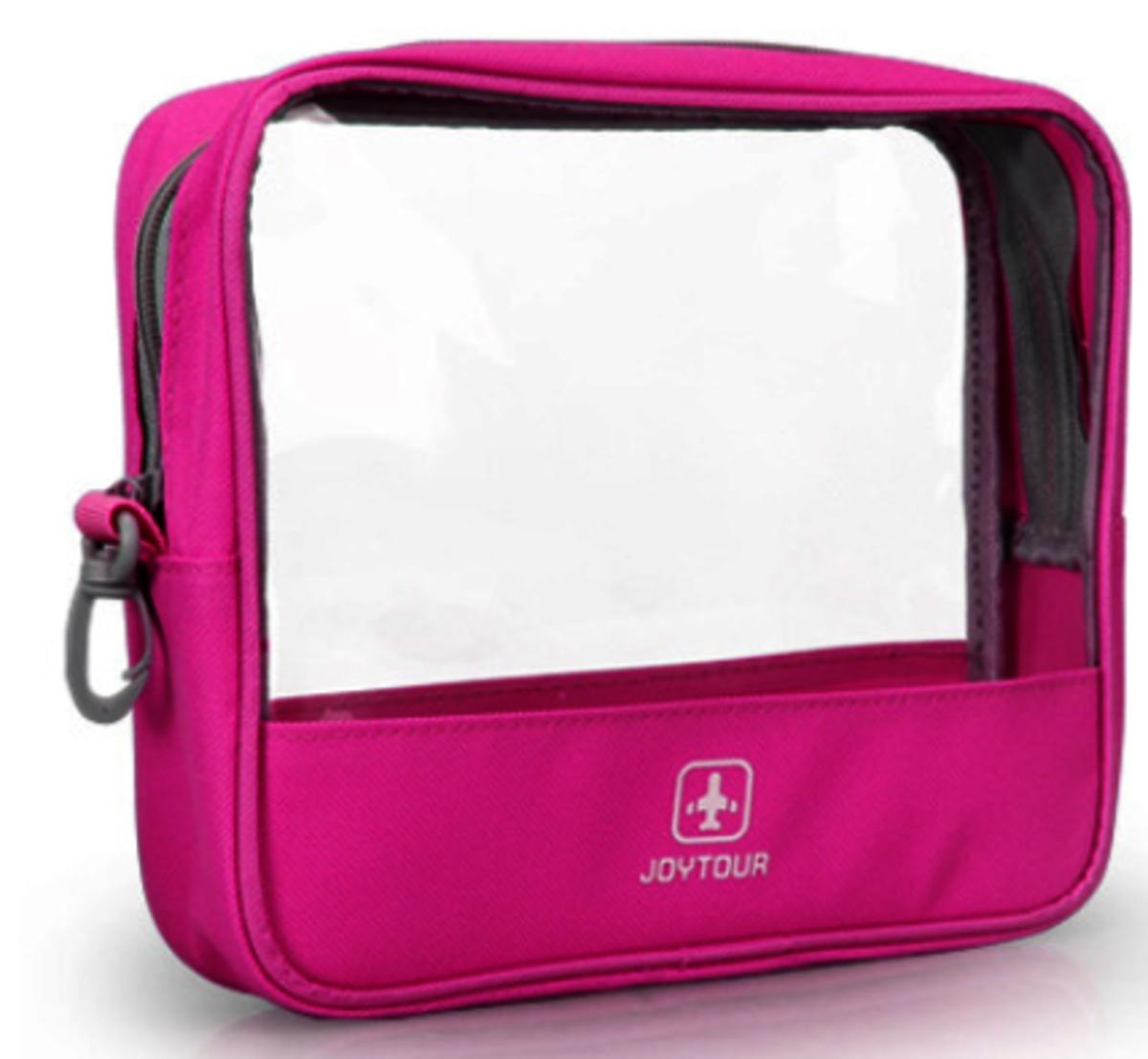 Joytour 防水旅行洗漱包透明收納袋