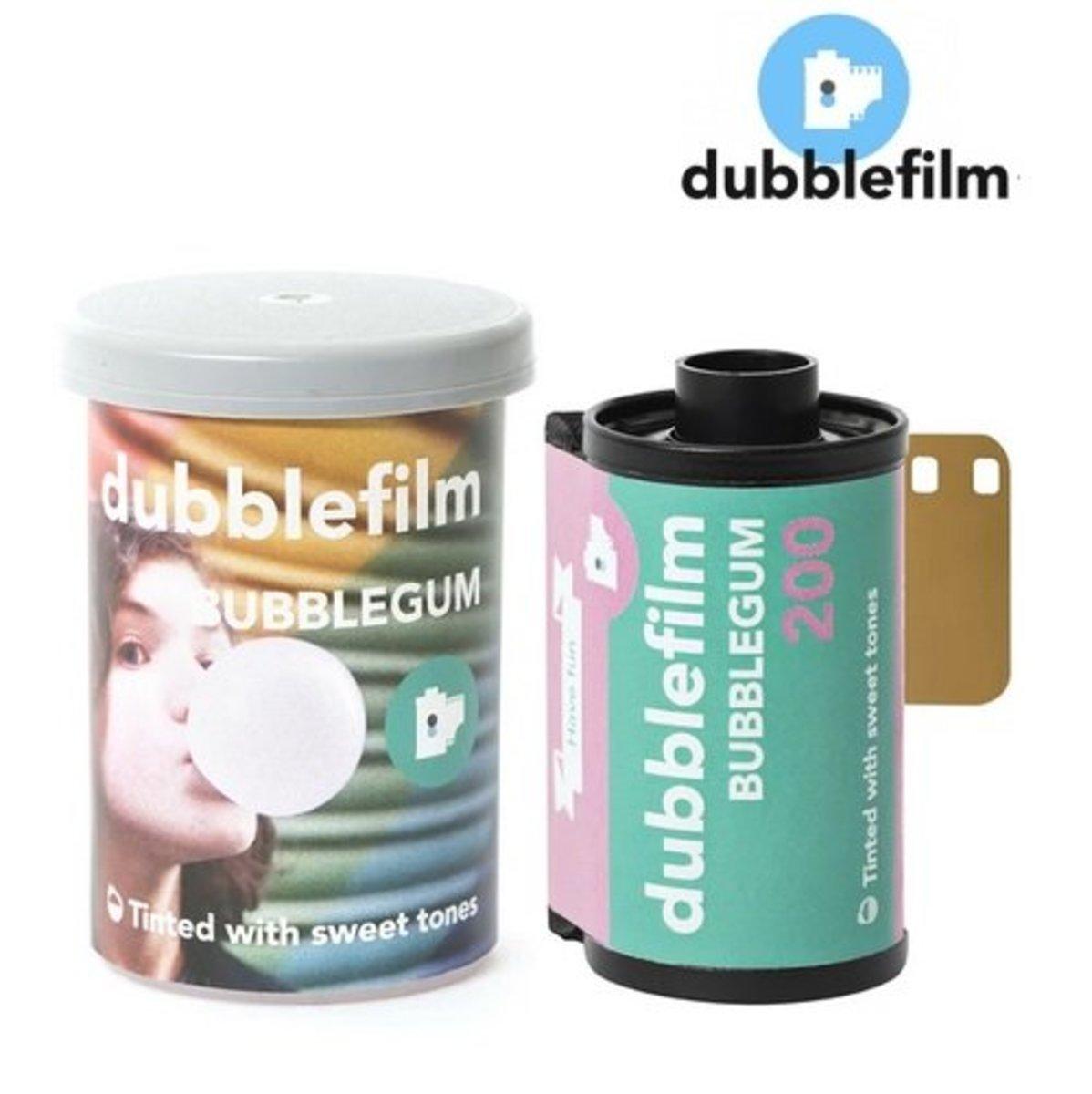 人手捲製 – 新版 dubblefilm Bubblegum 200 ISO 35mm 偏色電影菲林 (36exp)