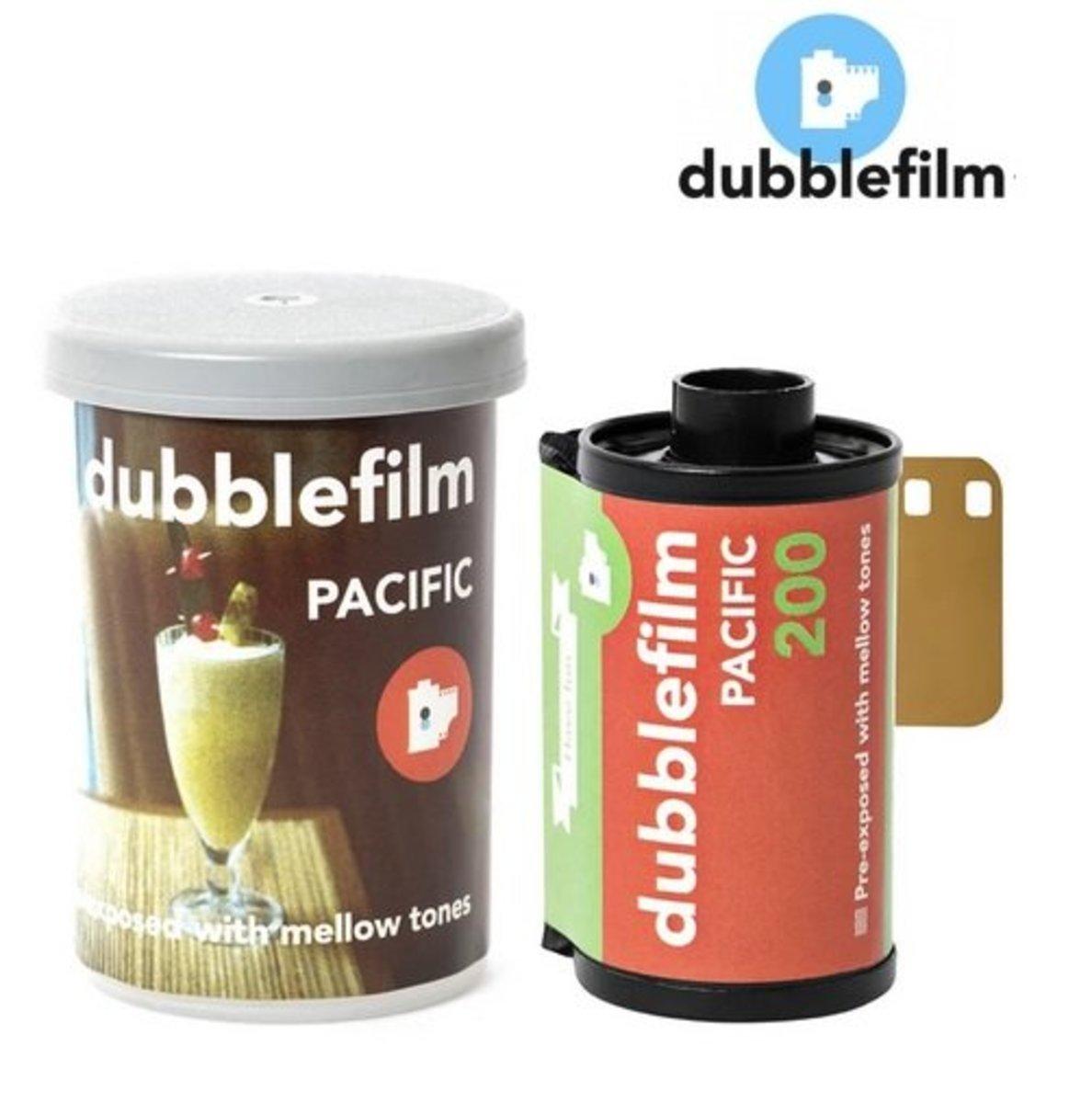 人手捲製 – 新版 dubblefilm PACIFIC  200 ISO 35mm 偏色電影菲林 (36exp)