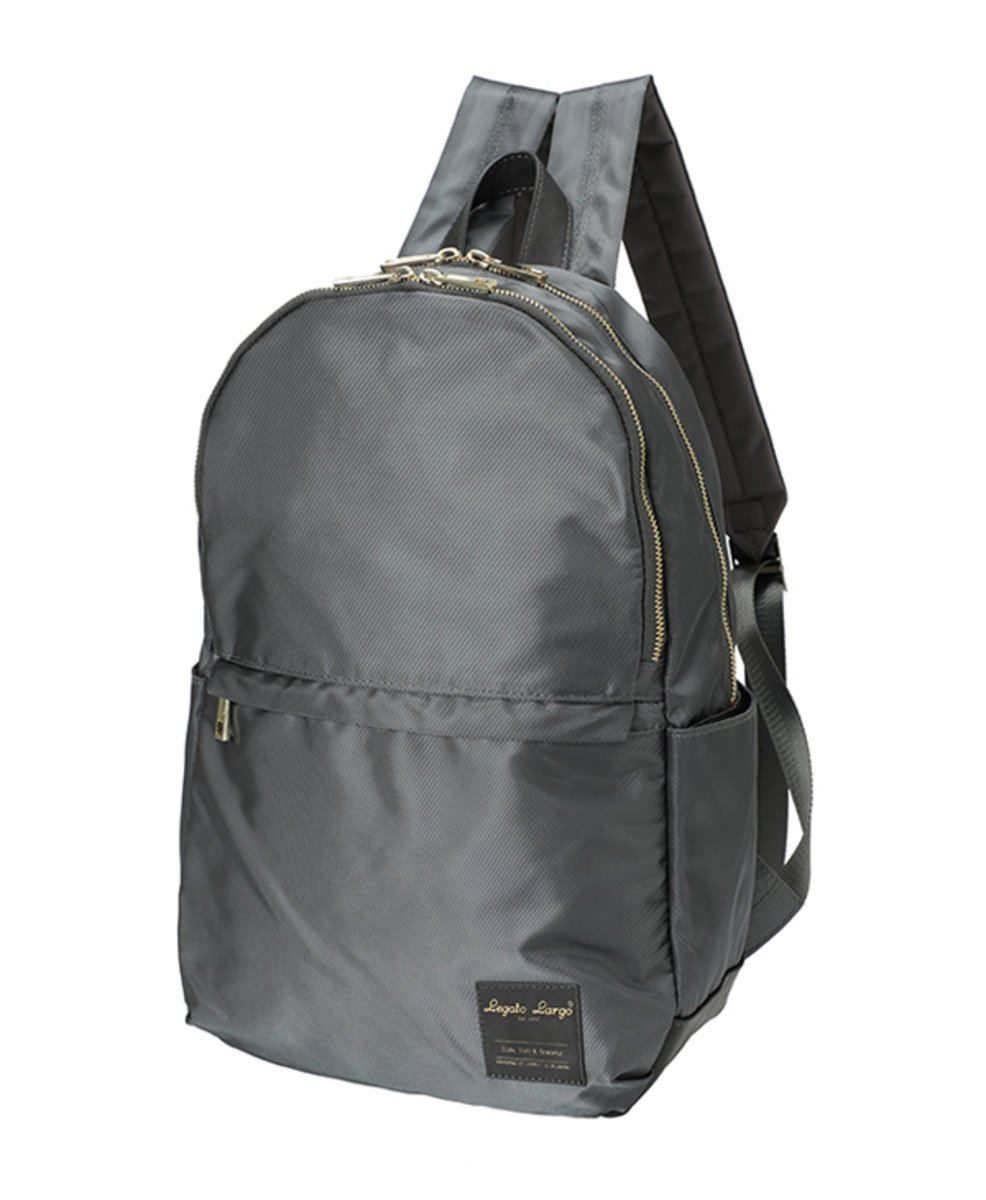 Polyester Waterproof Backpack LT-H1421-CGY Grey