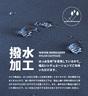 Water-Repellent Nylon Mini Tote Bag-LT-T0011 PINK BEIGE