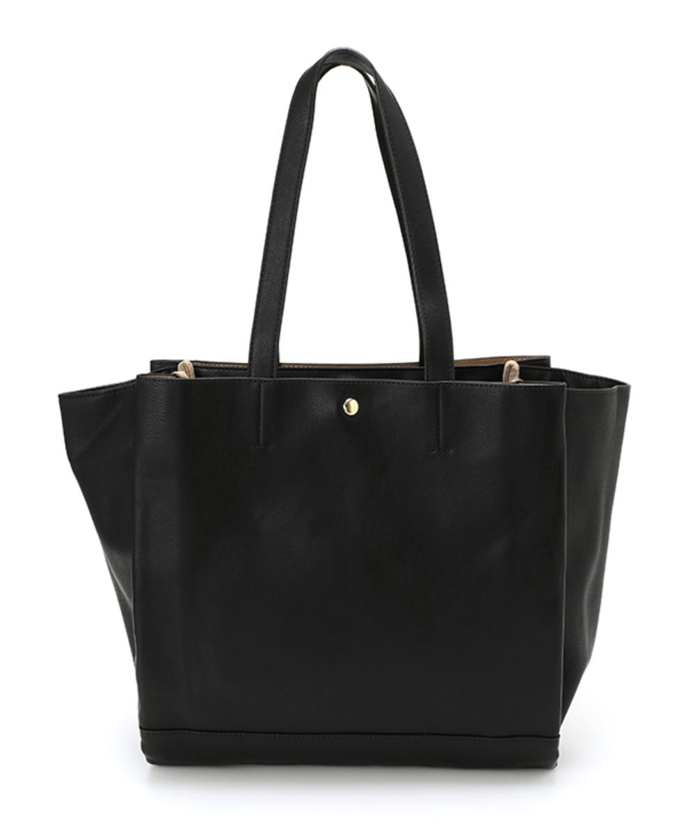 皮革A4 size 手提袋 LU-M0801 深藍色