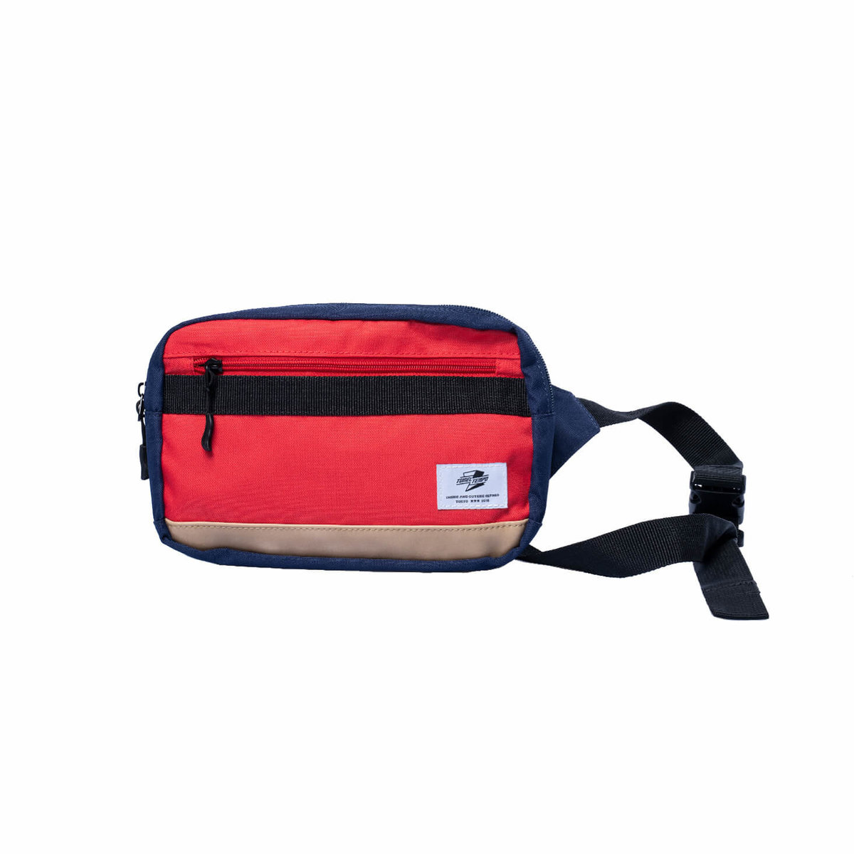Tunnel Tempo cross body bag backpack with tooling trend (red+blue)