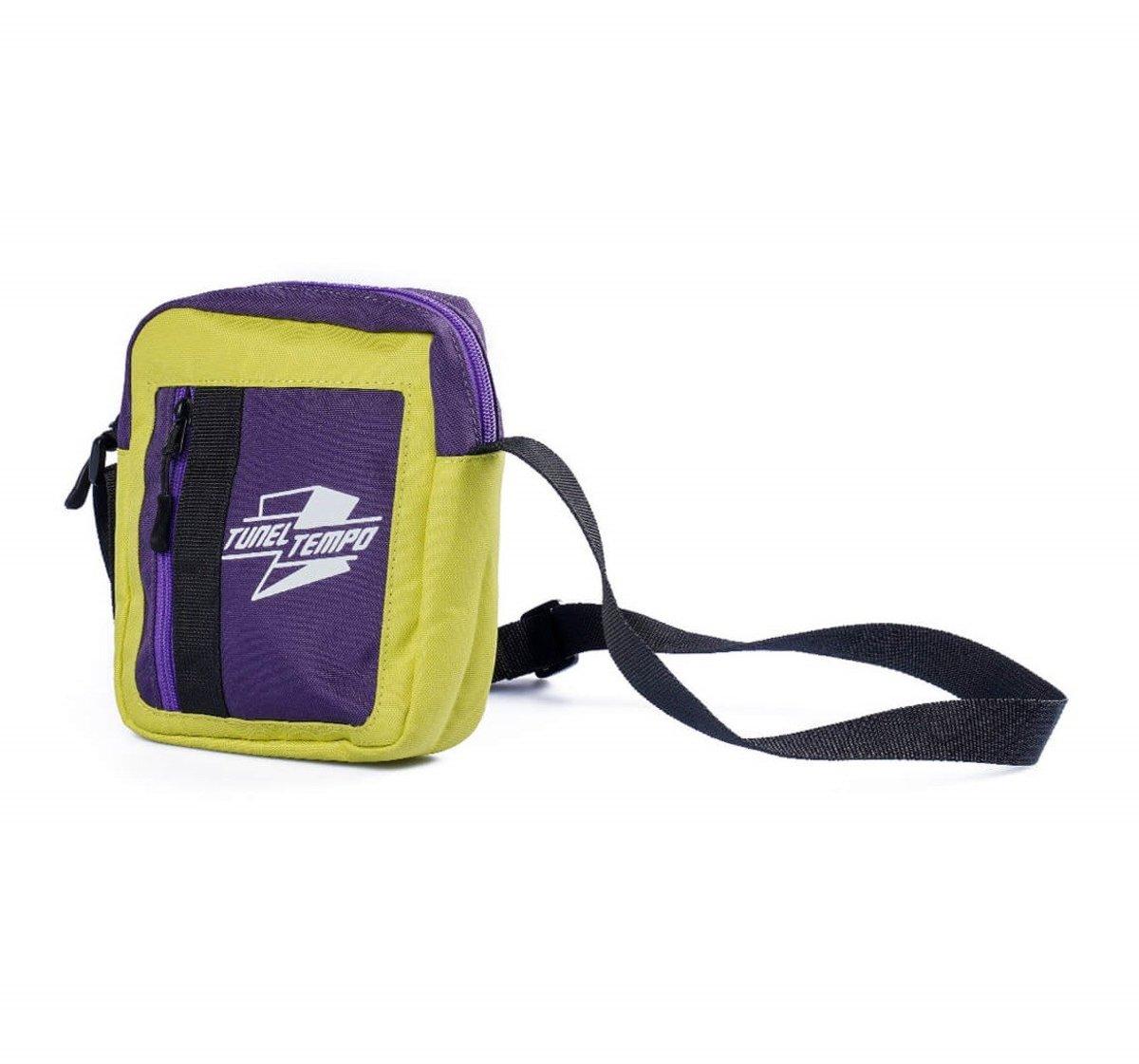 Tunnel Tempo green-purple cross body bags small haversack