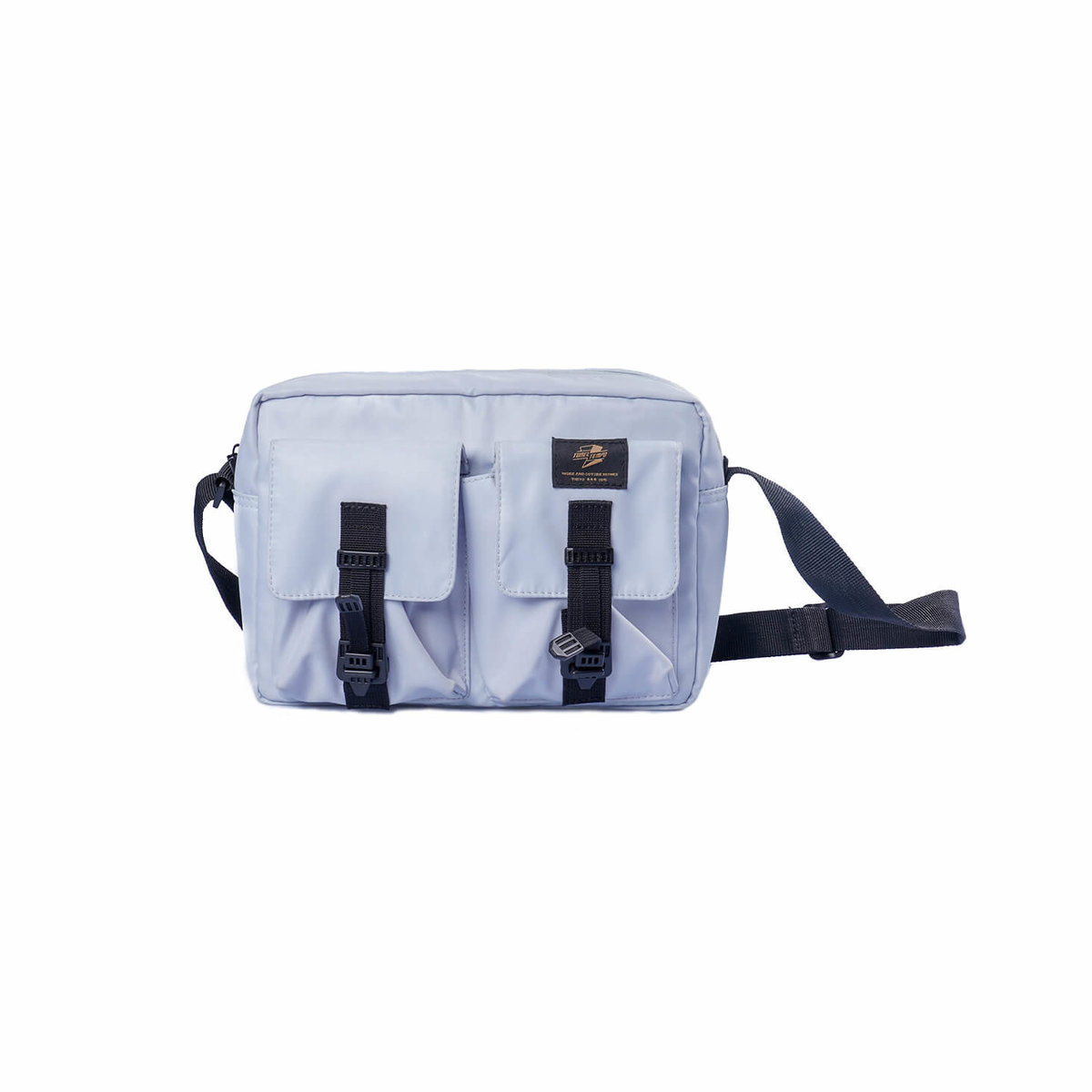 After-school leisure in Seto Inland Sea Japanese retro functional and practical army gray white