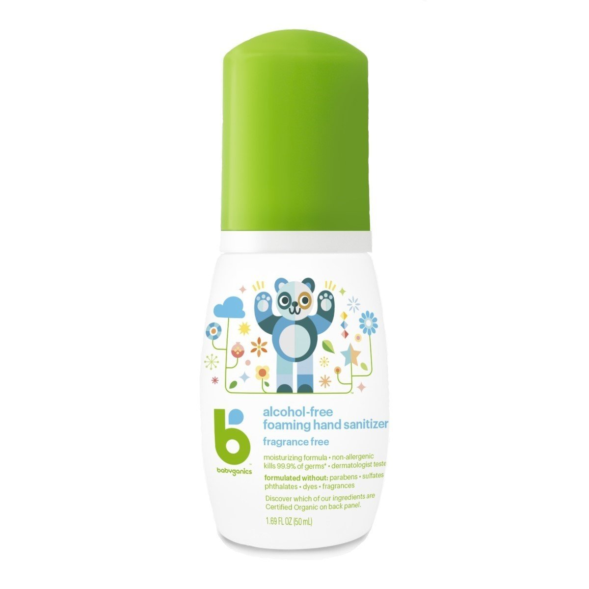 Hand Sanitizer Unscented 50ml On-The-Go (Dealer Goods)
