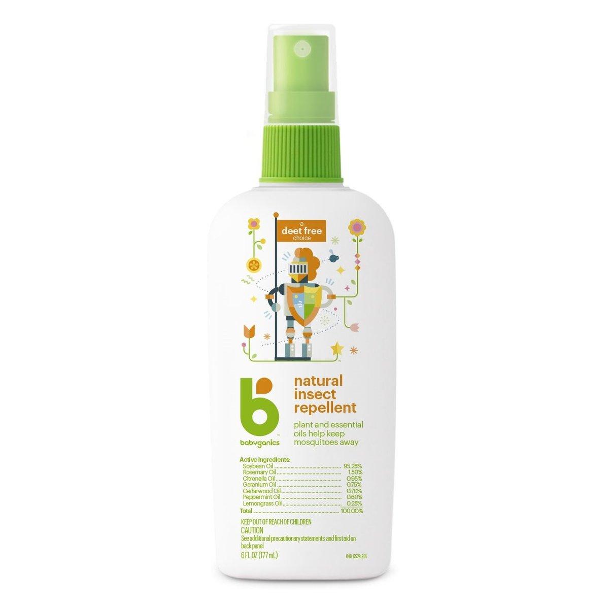Natural Insect Repellent DEET-Free 6oz (Dealer Goods)