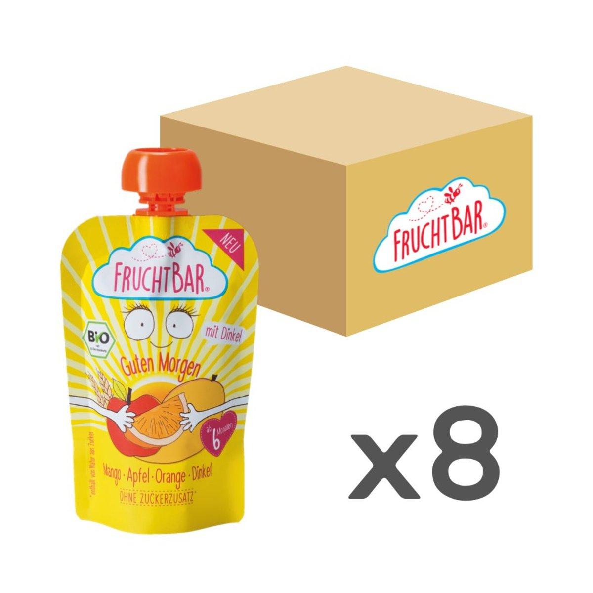 [原箱] 有機穀物果蓉 - 芒果蘋果斯佩特小麥 100g x8