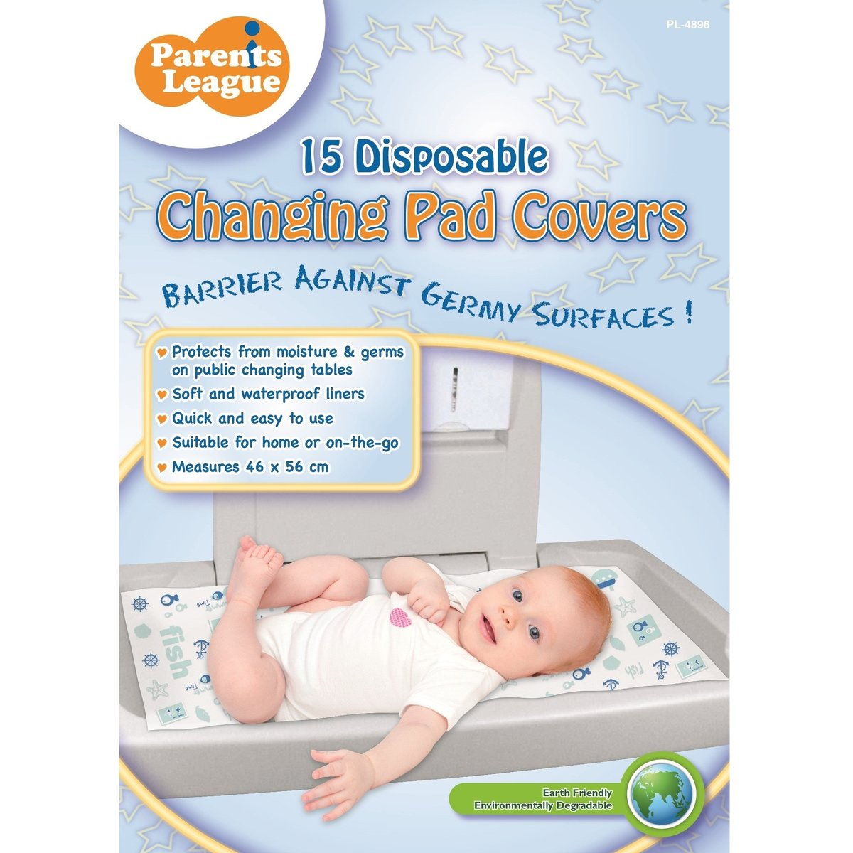 Disposable Changing Pad Cover 15's