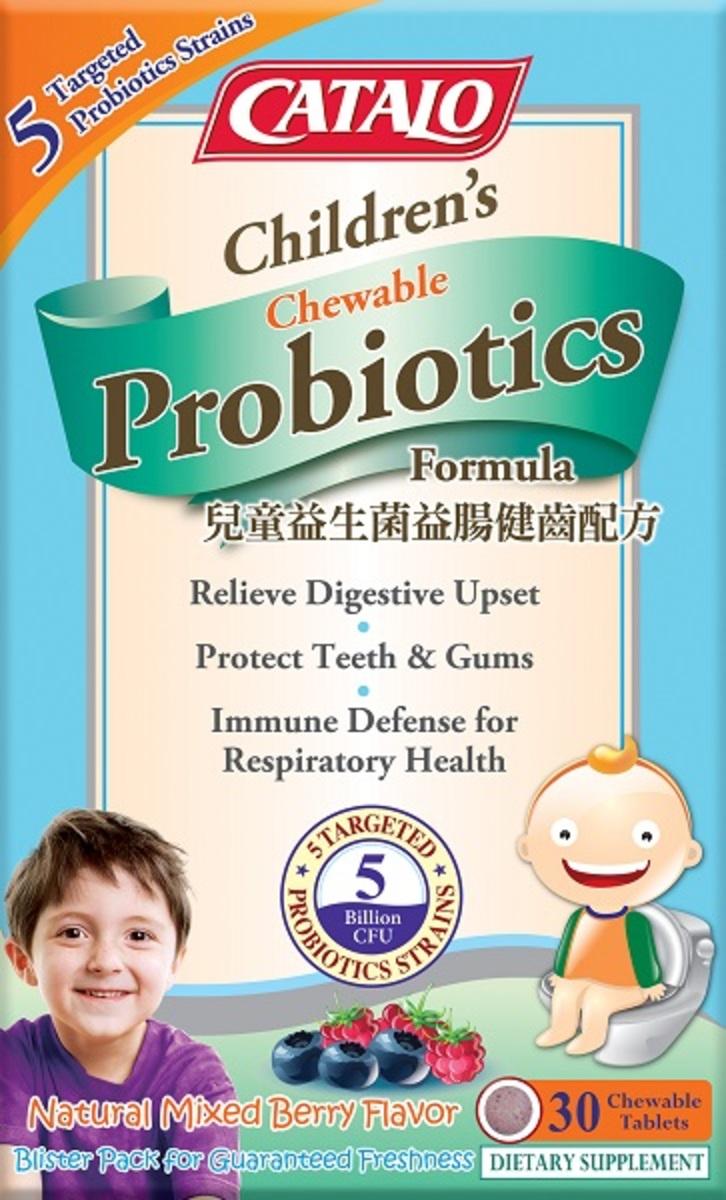 Children's Probiotics Chewable Formula 30 Chewable Tablets