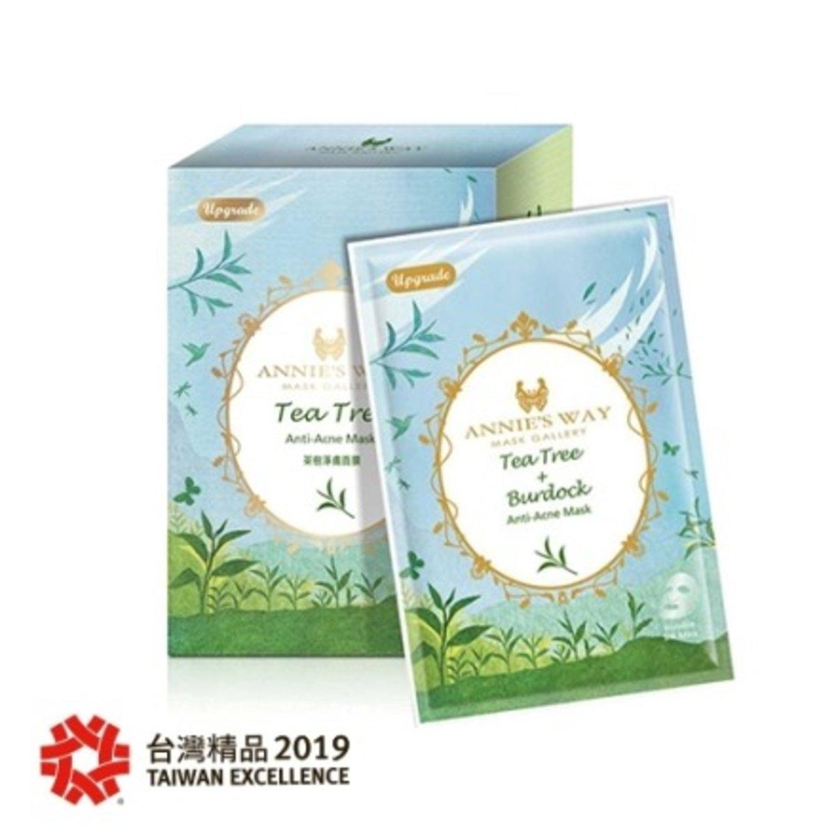 Tea Tree + Burdock Anti Acne Mask