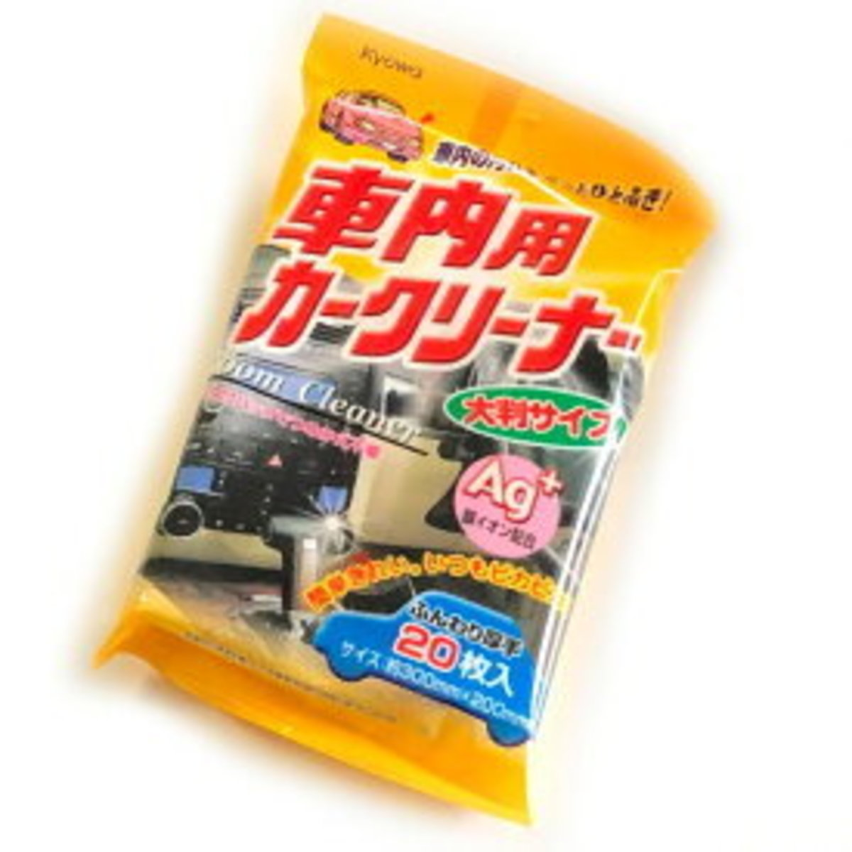 日本製車箱內飾清潔濕紙巾