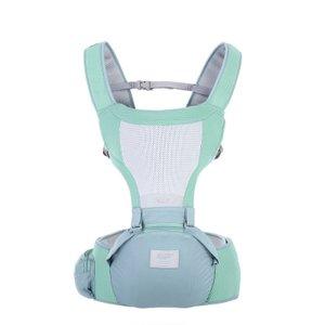 TEN 嬰兒坐墊式揹帶/腰凳-綠色 1件