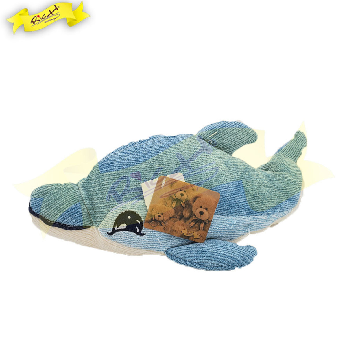 Chenille Knitted Dolphin Cushion (38cm) - 3F348