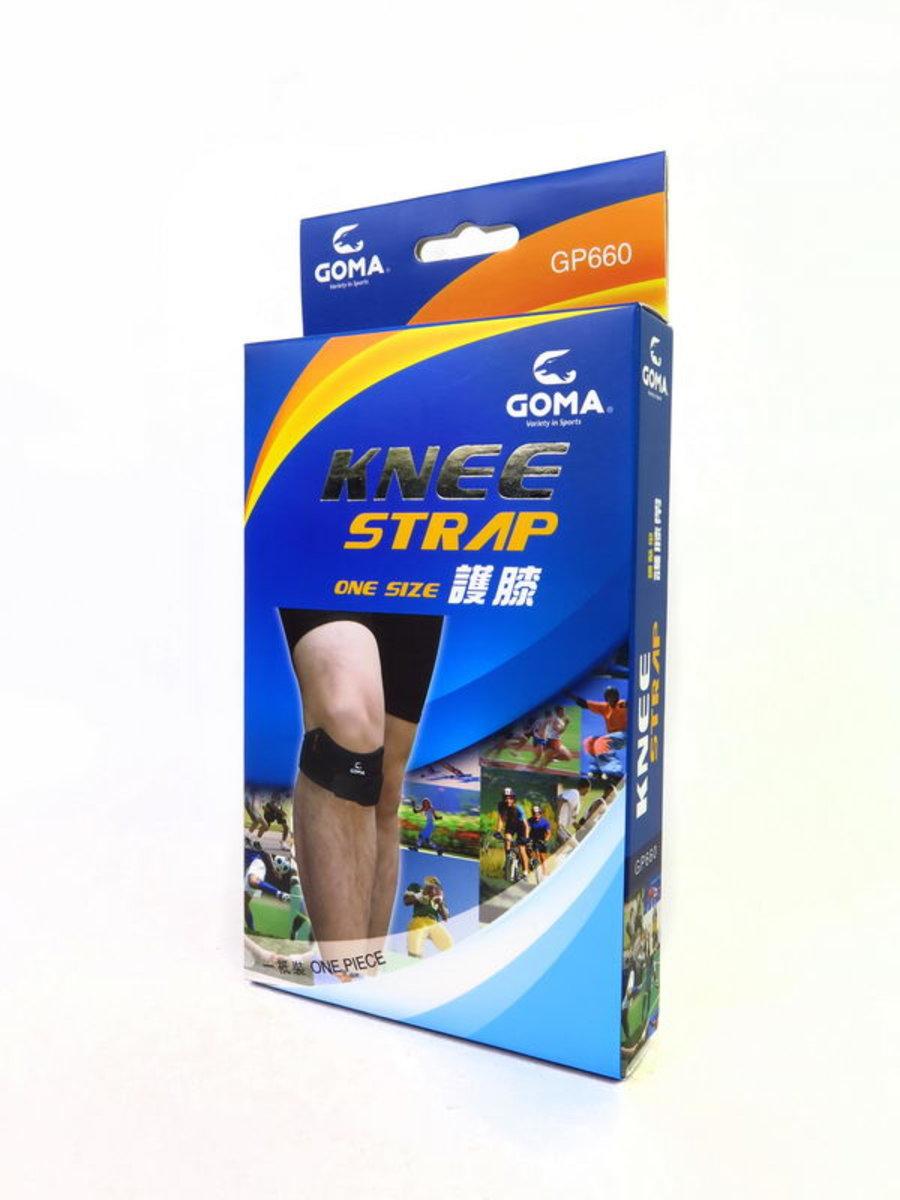 GP660 護膝帶 (一條裝, 單一尺碼)