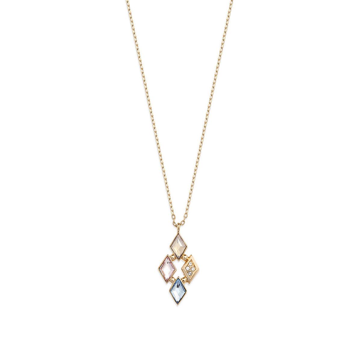 Glitter: 金色, 多色Swarovski 水晶石項鏈