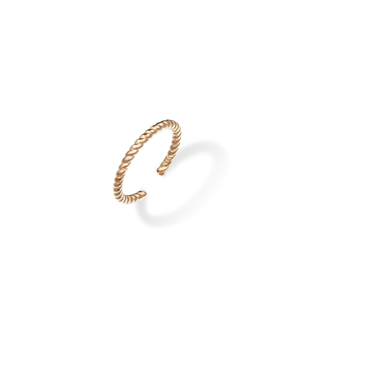 Tresor:925 silver, pink gold plating ring