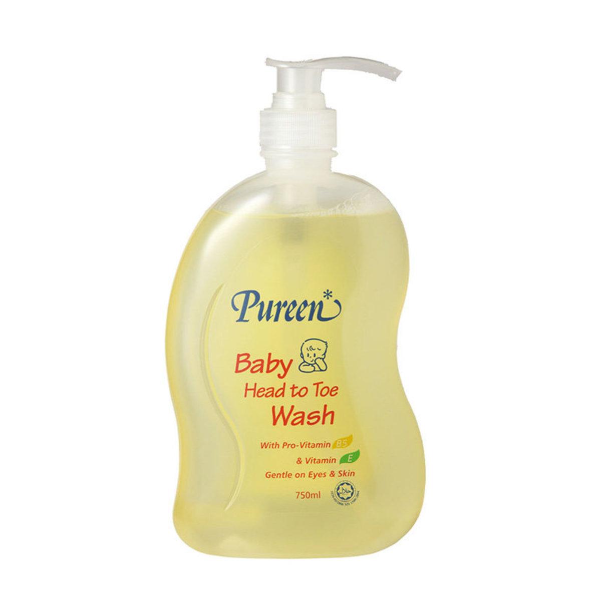 嬰兒洗髮沐浴露-原味 (750ml)