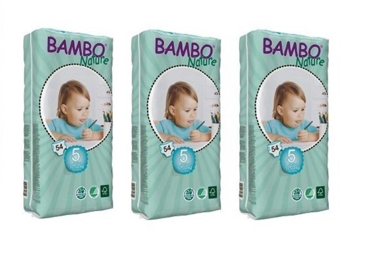 ECO Diapers L (No.5) (54pcs) 12-22kg (3 Packs)