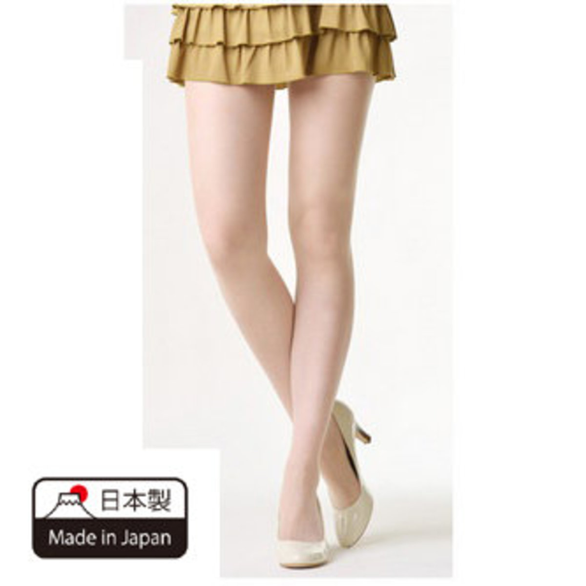 Anti-Hook Stockings (Beige) M-L Antibacterial Anti UV Antistatic (1pc)