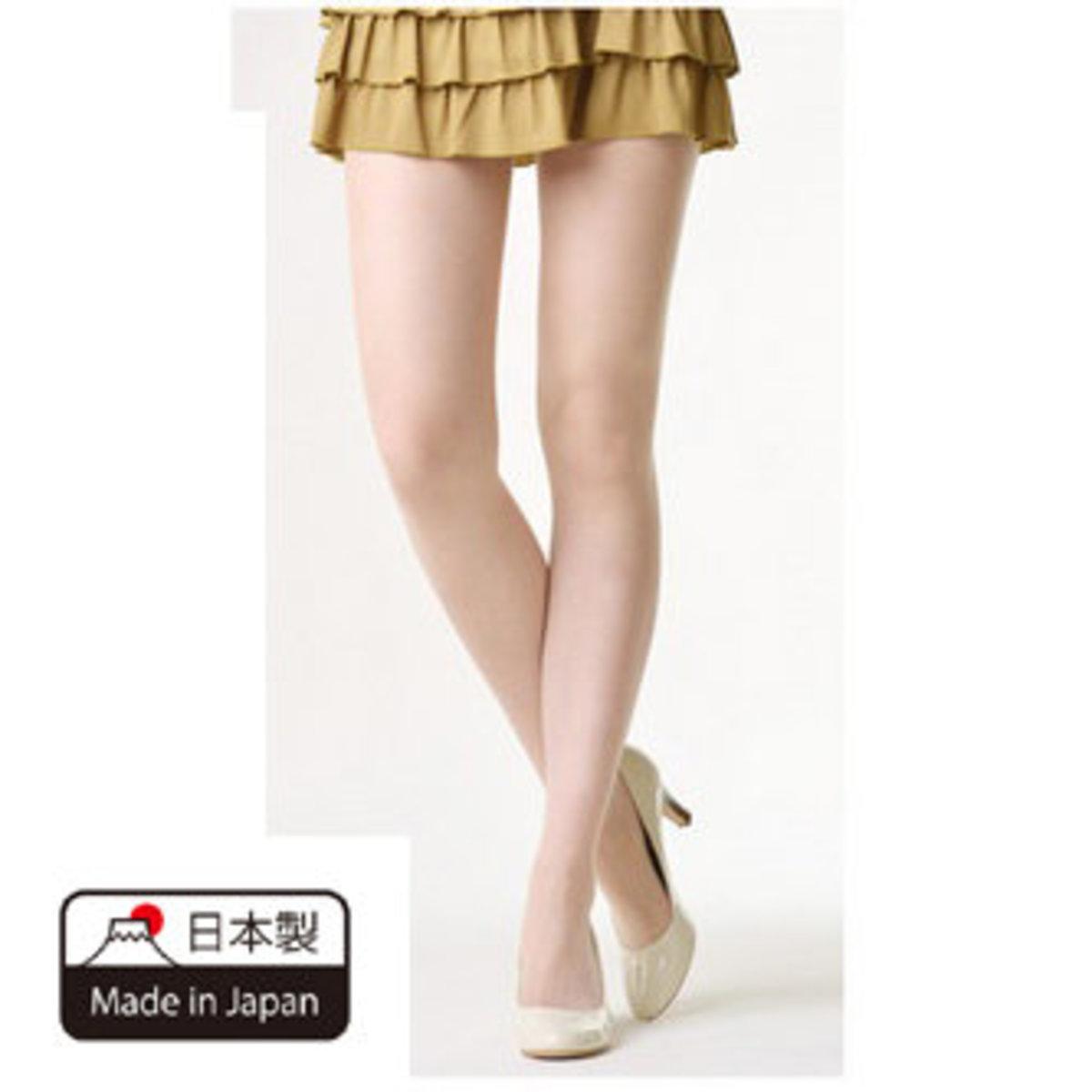 日本制防鈎絲襪褲 (杏色) Size : L-LL 抗菌抗UV防靜電