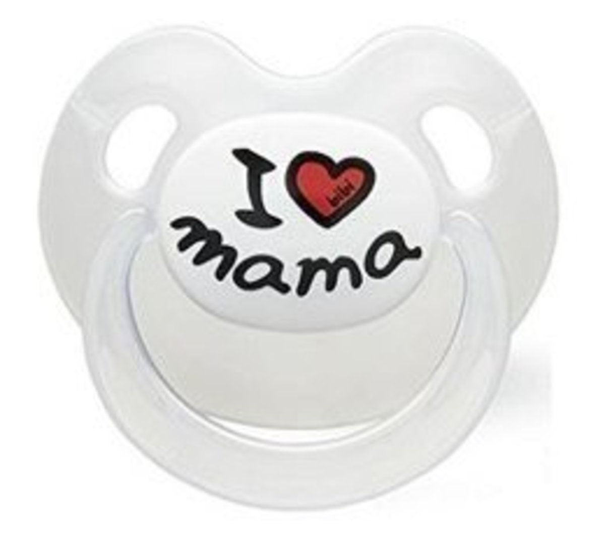 Basic Care Series Daily Thumb Silicone Play Tips (0-6M)-I Love mama