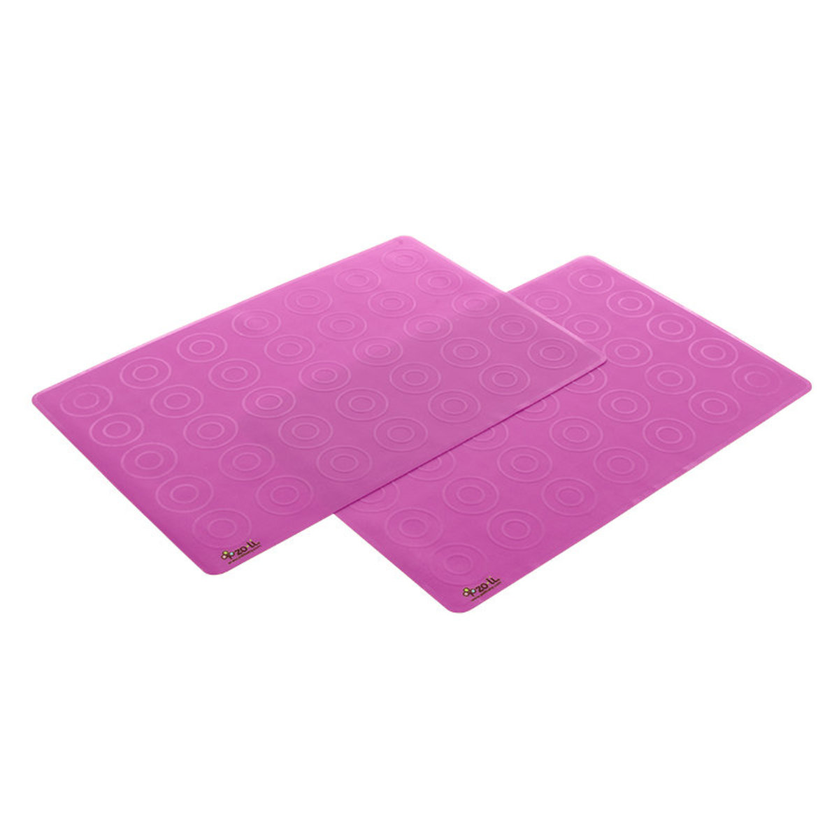 Matties 硅膠餐墊 (2個裝) (粉紅色)