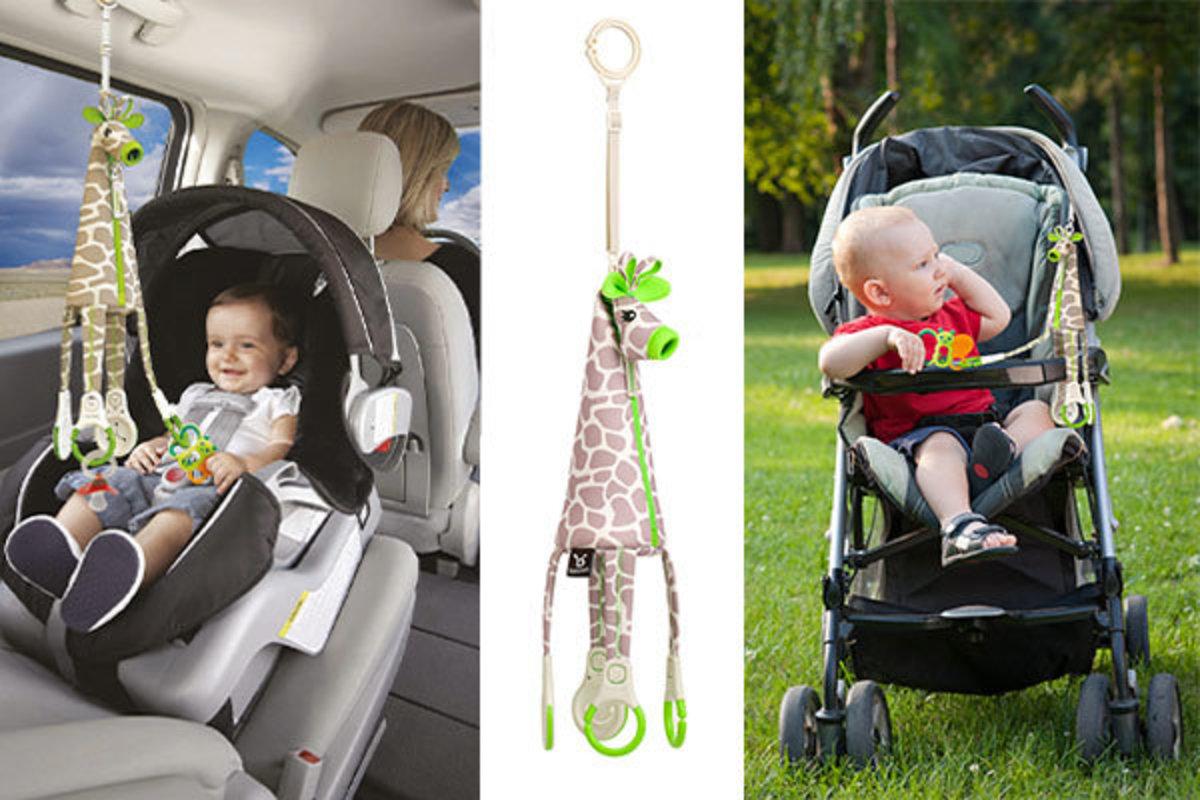 Giraffe Car Toy Rings